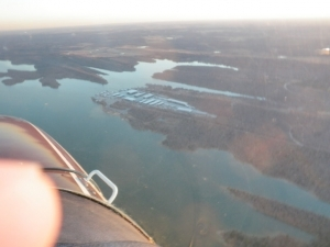 Aerial Vies from the North  Lake Murray Marina, December 2010