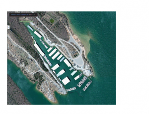 Lake Murray Marina  Present Configuration